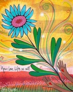 Your love lifts us Lori Portka
